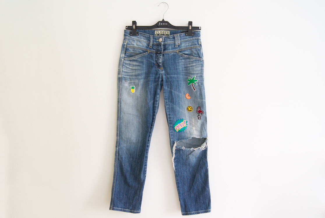 yellowgirl_DIY_Patch_Jeans_3