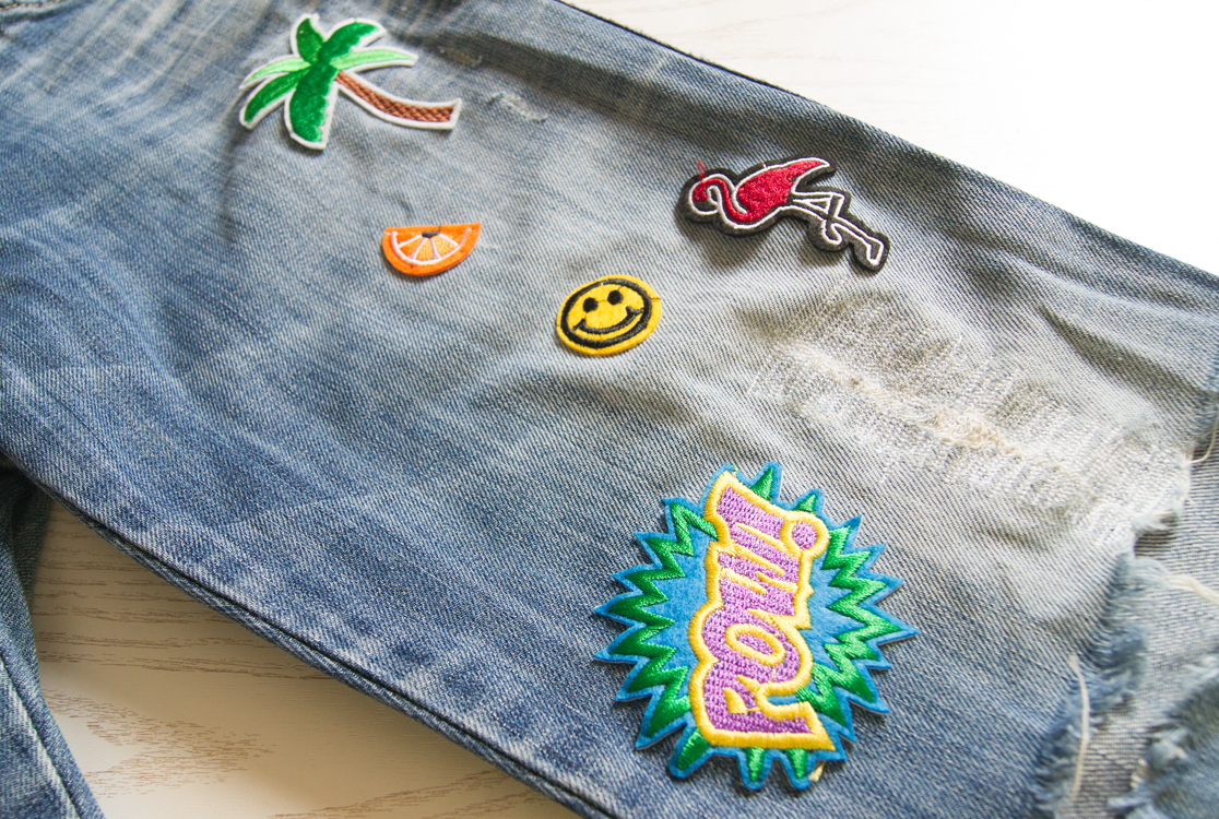 yellowgirl_DIY_Patch_Jeans_5