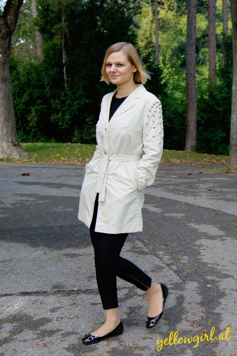 DIY Spike Trenchcoat von yellowgirl.at