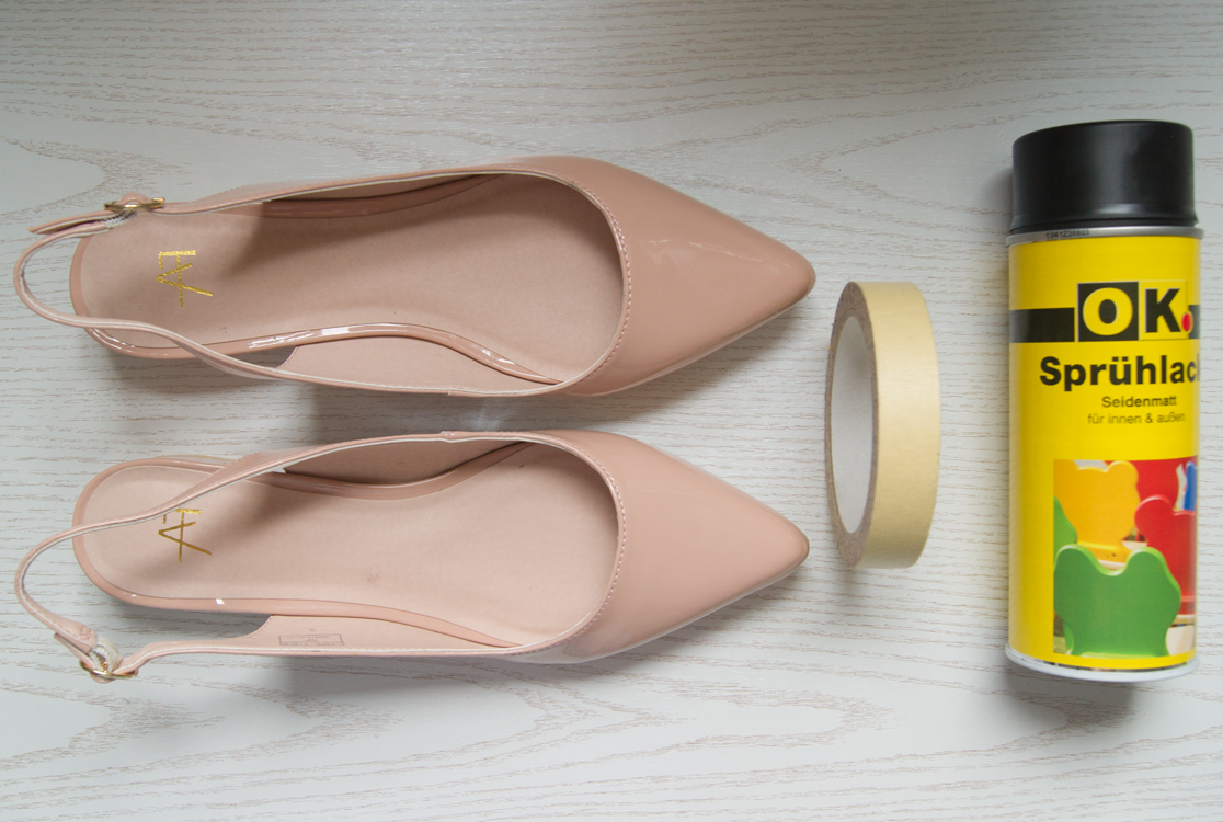 DIY Chanel Slingbacks