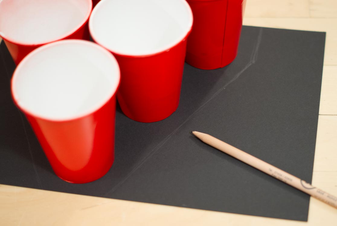 diy couple beer pong costume yellowgirl der diy und lifestyle blog. Black Bedroom Furniture Sets. Home Design Ideas